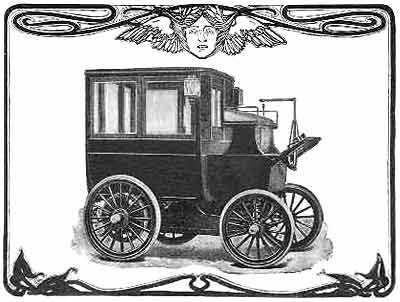 1900 Columbia Electric Bus by Willoughby
