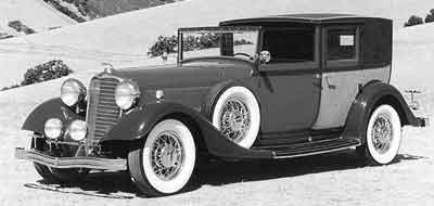 1933 Lincoln KB V12 Panel Brougham by Willoughby