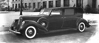 1938 Lincoln KB V12 Panel Brougham by Willoughby